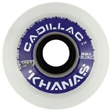 Cadillac KHANAS Skateboard Wheels 70mm 83a WHITE