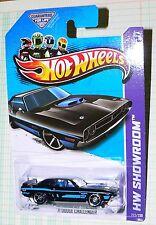 2013 Hot Wheels  '71 Dodge Challenger  #222/250   HW Showroom   GFL