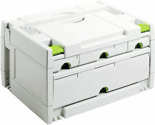 Festool Systainer 491522 SYS 3-SORT / 4 4 CASSETTI Sortainer