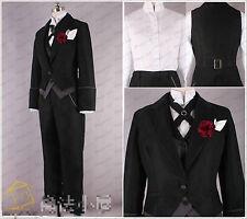 Black Butler Kuroshitsuji Claude Faustus Cosplay Costume Custom Any Size