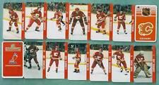 1983 Calgary Flames Key-Chain Team Set - Lanny McDonald Etc.