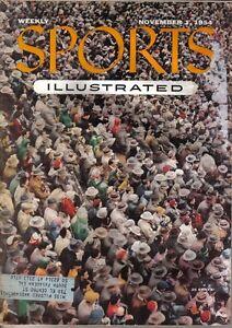 1954 11/1 Sports Illustrated, College Football, magazine, Oklahoma Sooners ~ VG
