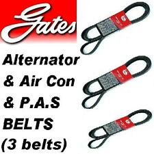 VAUXHALL ASTRA 2.0 GTE 16V 87-91 Gates Alternator & A/C & power steering belt