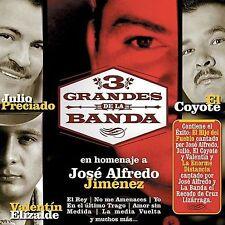 Julio Preciado,El Coyote,Valentin Elizalde,3 Grandes De La Banda Homenaje A Jose