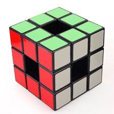 US 57mm Lanlan 3x3x3 Void Speedsolving Puzzle Magic Cube Black Kids Twisty Toy