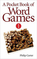 A Pocket Book of Word Games,Philip Carter,New Book mon0000038292