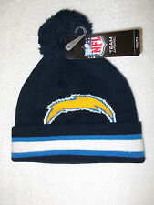 San Diego CHARGERS- NFL winter knit hat- Blue boys size 8-20