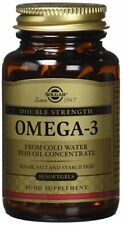Solgar Double Strength Omega-3 Supplement 700 mg 30 Count