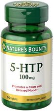 Nature's Bounty Double Strength 5-HTP 100 mg, 60 Capsules (9 Pack)