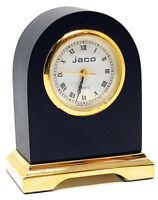 Miniature Table Full Brass Novelty Clock, Vintage Classic, Mantel Design