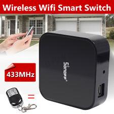 Sonoff Smart Switch RF Bridge 433MHz Wifi App Remote DIY Timer For Smart Home US