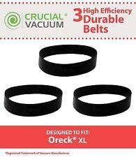 3 Durable Oreck XL Vacuum Belts, Part # 030-0604 & XL010-0604