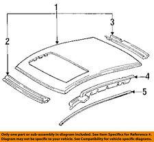 HONDA OEM 92-95 Civic-Roof Molding Trim Left 74316SR3003