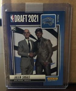 Jalen Suggs 2021-22 Panini NBA Draft Night Rookie Card 1 Of 1269