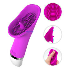 Clit Licking Tongue Sucking Vibrator G-Spot Oral Massager Sex Toys For Women