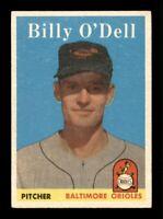 1958 Topps Set Break # 84 Billy O'dell EX-MINT *OBGcards*