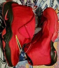 Nike Air Zoom Flight The Glove Red Miami Heat Size 11.5 Gary Payton 11 12
