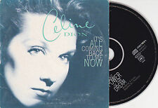 CD CARTONNE CARDSLEEVE 2T CELINE DION IT'S ALL COMING BACK TO ME NOW 1997