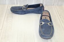 Hush Puppies Longin Terveen Loafer - Men's Size 8M, Navy