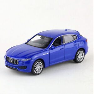 1:43 Maserati Levante SUV Model Car Diecast Toy Pull Back Blue Kids Boys Gifts