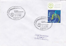Germany 1999 20th anniversary of German Cancer Relief Fund FDC VGC