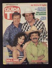 NUOVA GUIDA TV MONDADORI 26/1991 CLAUDIO LIPPI SABINA STILO GIGI E ANDREA