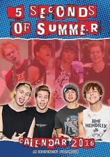 5 SECONDS OF SUMMER 2016 LARGE WALL CALENDAR NEW AND FACTORY SEALED BY DREAM