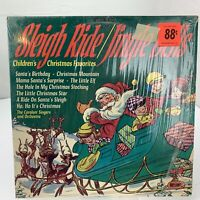 Children's Christmas Favorites Sleigh Ride Jingle Bells LP Record Album Vinyl