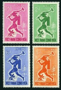 Viet Nam South 185-188,MNH.Michel 262-265. WHO drive to eradicate Malaria,1962.