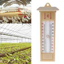 Greenhouse Max-Min Thermometer Press Traditional Temperature Monitor -40 to 50℃