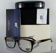 New Authentic MONT Blanc Eyeglasses MB 383 056 Havana Tortoise Frame 52mm 383