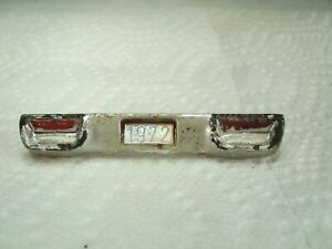1972 Plymouth Road runner MPC rear bumper  for promo car