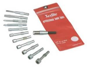Xcelite 99Pa50n Stubby Blade Bit Set,Pieces 12