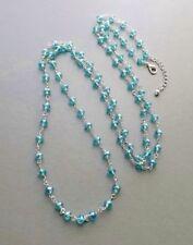 Handmade Longer than 90 cm Crystal Costume Necklaces & Pendants
