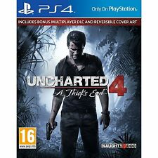 Uncharted 4 a Thief's End Ps4 Game Naughty Dog