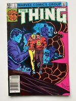 The Thing #2 Fantastic Four Vintage Marvel Comics