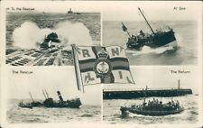 Postcard RNLI Lifeboats 1950's Real Photo unposted