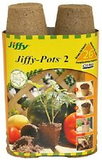 """(1) Jiffy 26 Pack 2.25"""" Round Peat Pots Starting Canadian Spaghnum Moss - Jp226"""
