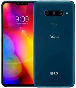 VZW Unlocked 🔥 LG V40 ThinQ 🔥 GSM Black Blue 64GB Never USED 🔥 NO RETAIL BOX