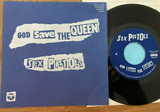 "THE SEX PISTOLS - GOD SAVE THE QUEEN - TOP MEGA PUNK JAPAN 7"" 45 - YK-90-AX"