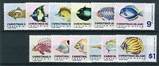 Christmas Islands  1968-70 pesci mnh