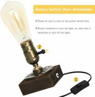 Steampunk Industrial Reading Table Lamp with Switch Desk Light Vintage