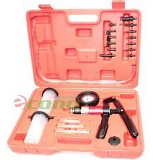 21PC Hand Held Vacuum Pressure Pump Tester Kit  Brake Fluid Bleeder Bleeding Kit