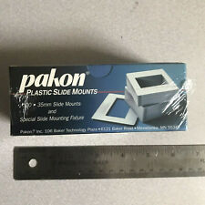 100 Pakon 35mm Slide Mounts new sealed