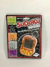 Sudoku ToGo! Hand Held Electronic Game Keychain by Kid Galaxy New Sealed