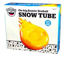 Big Mouth Toys, the big flamin' fireball Snow Tube, 4 feet Across