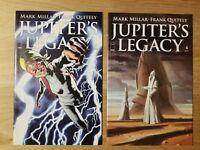 Jupiter's Legacy #4 Variant Set NM+/NM 2014 Mark Miller Image Comics