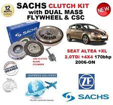 Para Seat Altea + Xl 2.0 TDI 170 Cv 2006-ON Kit de embrague con volante de inercia Pernos CSC