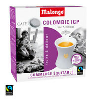 Malongo Espresso Columbien - 80 Pad - 100 % Arabica, Pods, Kaffee, Cafe,Expresso