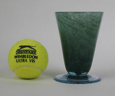 Nazeing glass Sherwood Green conical vase